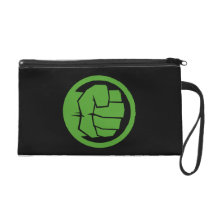 Incredible Hulk Logo Wristlet Purse