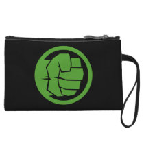 Incredible Hulk Logo Wristlet Wallet