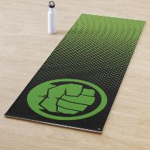 Incredible Hulk Logo Yoga Mat