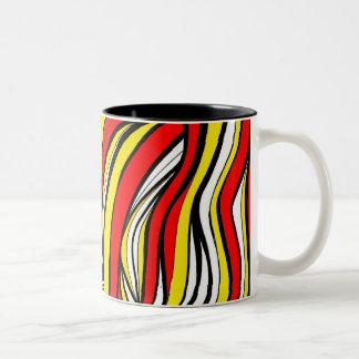 Incredible Simple Floral Creative Two-Tone Coffee Mug