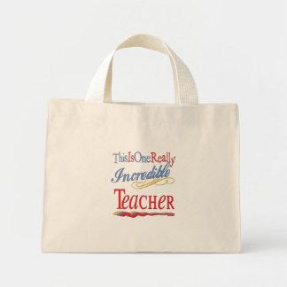 Incredible Teacher Mini Tote Bag