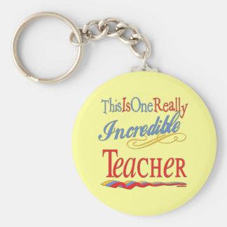 Incredible Teacher Key Chains