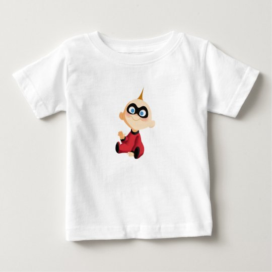 Incredibles Jack-Jack baby sitting Disney Baby T-Shirt