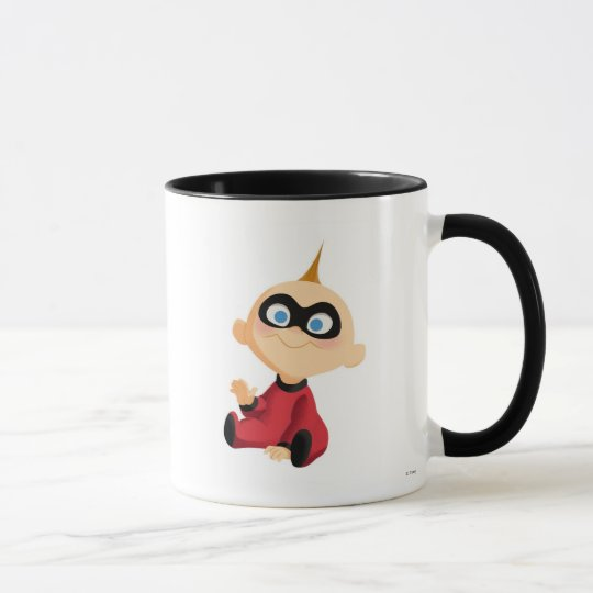 Incredibles Jack-Jack baby sitting Disney Mug
