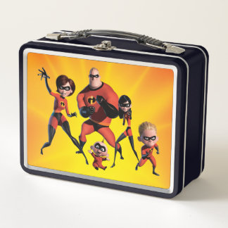 Incredibles - Multiple Metal Lunch Box