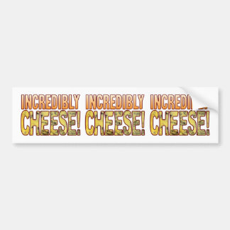 Incredibly Blue Cheese Bumper Sticker