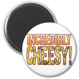Incredibly Blue Cheesy Magnet