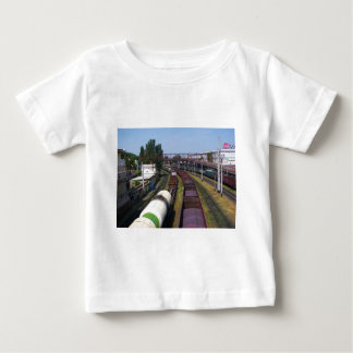 Incredibly Long Cargo Train Baby T-Shirt