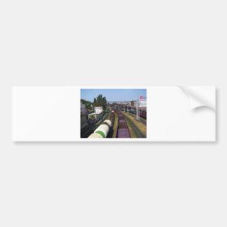 Incredibly Long Cargo Train Bumper Sticker