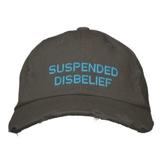 incredulidad suspendida gorra de béisbol