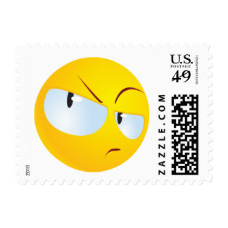 Incredulous Smile Postage Stamps