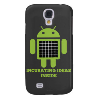 Incubating Ideas Inside (Bug Droid Grid Illusion) Galaxy S4 Cover