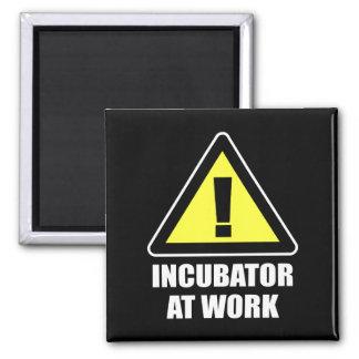 Incubator At Work Fridge Magnets