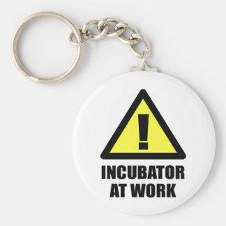 Incubator At Work Keychain
