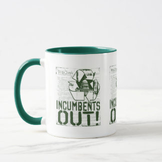 INcumbents OUT by Yes Politics Suck Mug