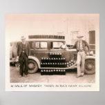 Incursión del whisky de la prohibición, Kilgore, T Poster