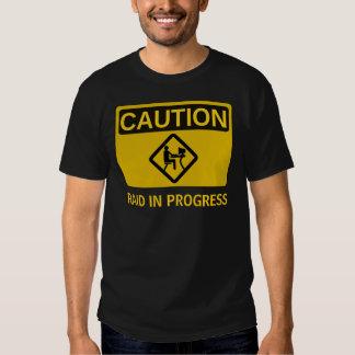 Incursión en curso camisas
