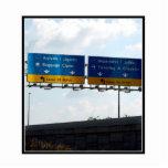 IND Airport Arrivals & Departures Photo Sculpture
