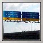 IND Airport Arrivals & Departures Posters