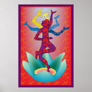 Indan dancer copy posters
