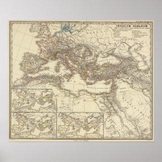 Inde de Romanum del Imperium Bello Póster