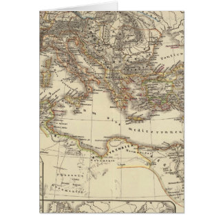 Inde de Romanum del Imperium Bello Tarjeta De Felicitación