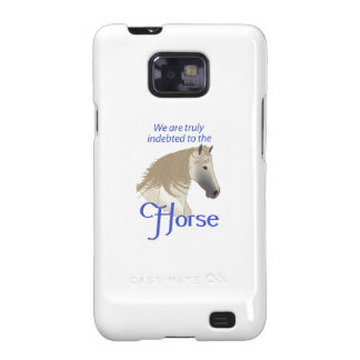 INDEBTED TO THE HORSE SAMSUNG GALAXY SII COVER