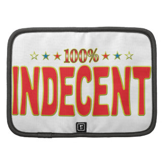 Indecent Star Tag Folio Planners