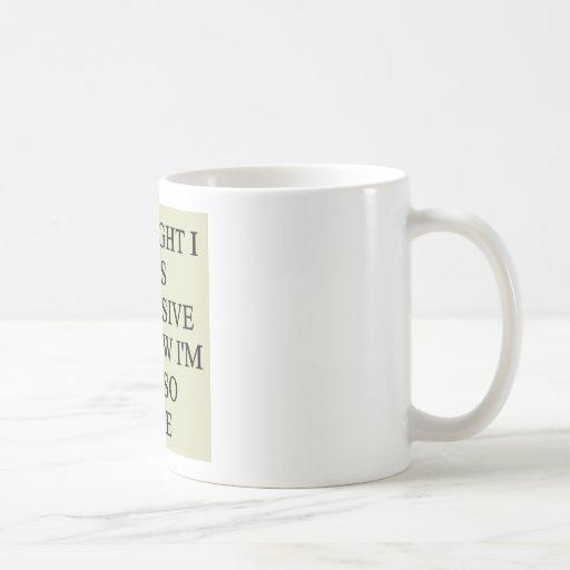 indecision doubt design mug