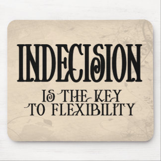 Indecision Mouse Pad