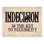 Indecision Post Card