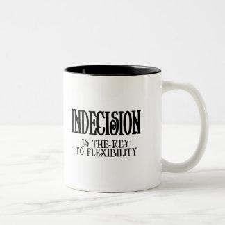 Indecision Two-Tone Coffee Mug