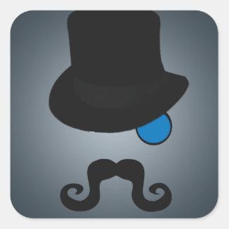 Indeed, Gentleman Square Sticker