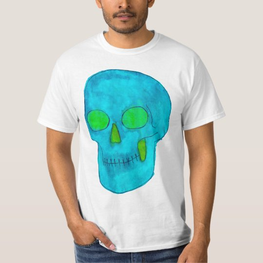 Indeed Green And Blue/Turquoise T-Shirt