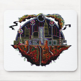 indefinable city logo nick navatta mouse pad