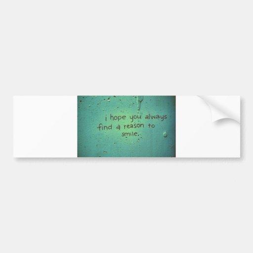 indefinido etiqueta de parachoque