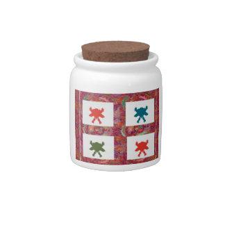 indefinido tarro de cerámica para dulces
