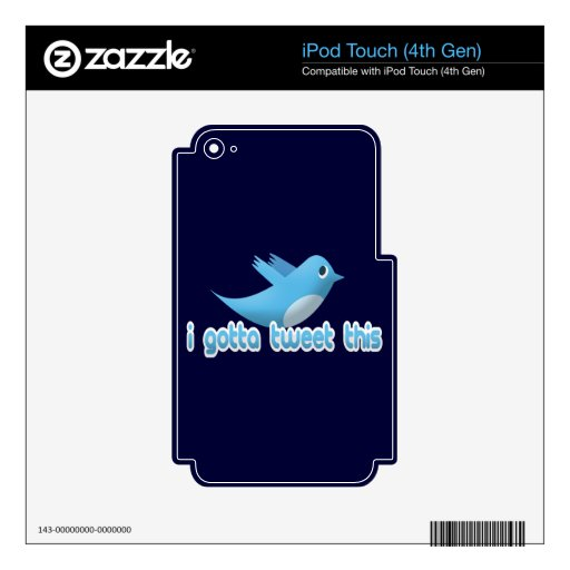 indefinido iPod touch 4G skins