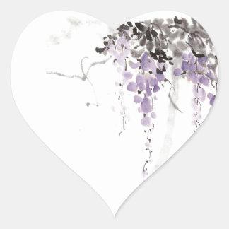 indefinido pegatina en forma de corazón
