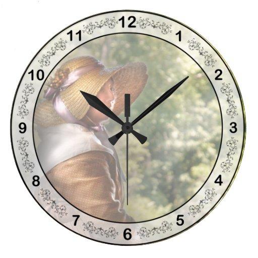 indefinido reloj redondo grande