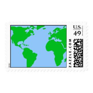 indefinido sellos postales