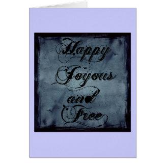 indefinido tarjeta de felicitación
