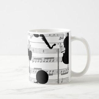 indefinido taza básica blanca