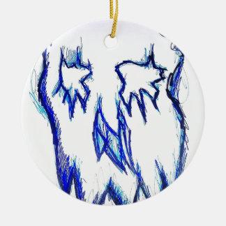 Indefinite Ceramic Ornament