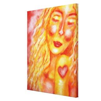Indelible Heart Art Gallery Wrap Canvas
