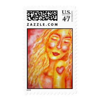 Indelible Heart Postage Stamp