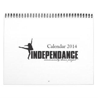 IndepenDANCE 2014 Calendar