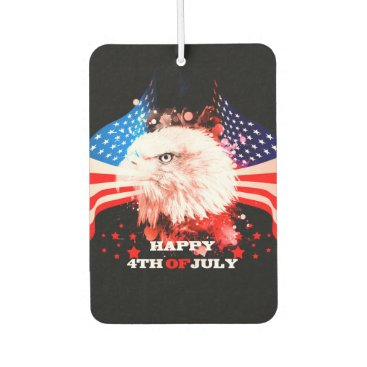 Independence Day4th of jul Air Freshener