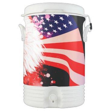Independence Day4th of jul Beverage Cooler