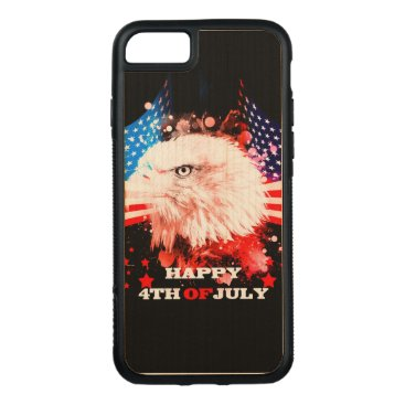 Independence Day4th of jul Carved iPhone 8/7 Case